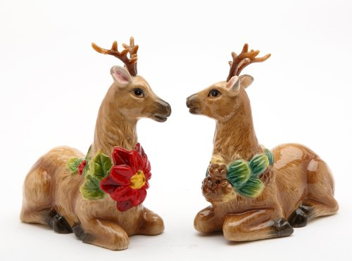 Cute Christmas Holiday Salt And Pepper Shaker Sets