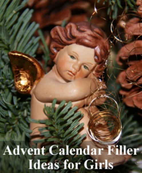 ideas for advent calendar gifts girls kids