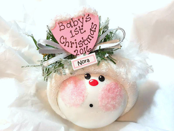 First Christmas Gifts For A Baby Girl Cute Ideas
