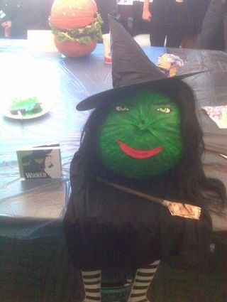 Witch-pumpkin