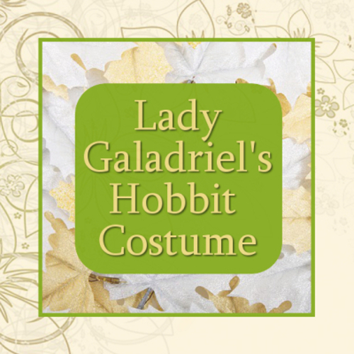 Lady galadriel from the hobbit lord of the rings fantasy costume
