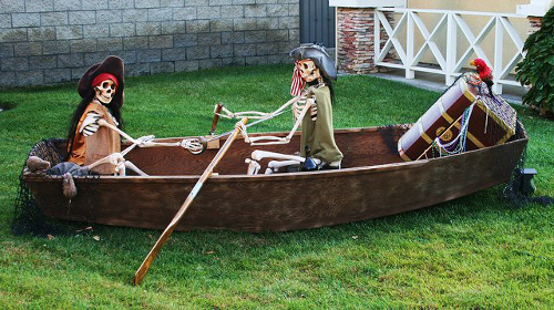 Halloween Pirate Decorations Ideas.Pirate Halloween Decorations Props And Ideas