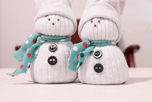 snowman bathroom decorations no-sew snowman sock