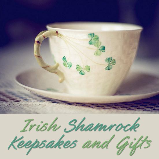 Irish Shamrock Gifts Beautiful Celtic Keepsakes