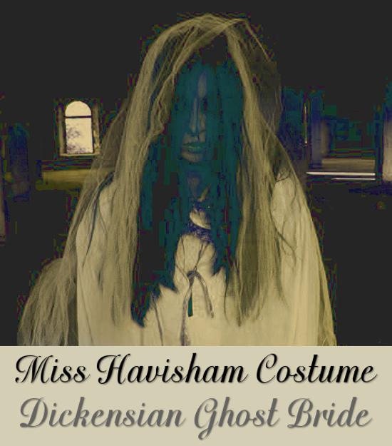Miss Havisham ghost dead bride Victorian Gothic costume