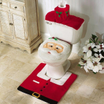 Santa Bathroom Accessories and Decor