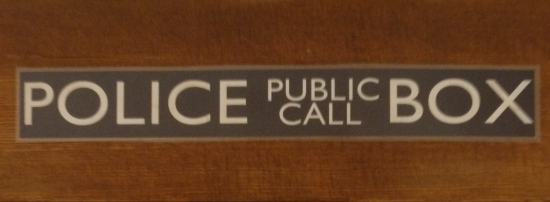 Police Public Call Box sign