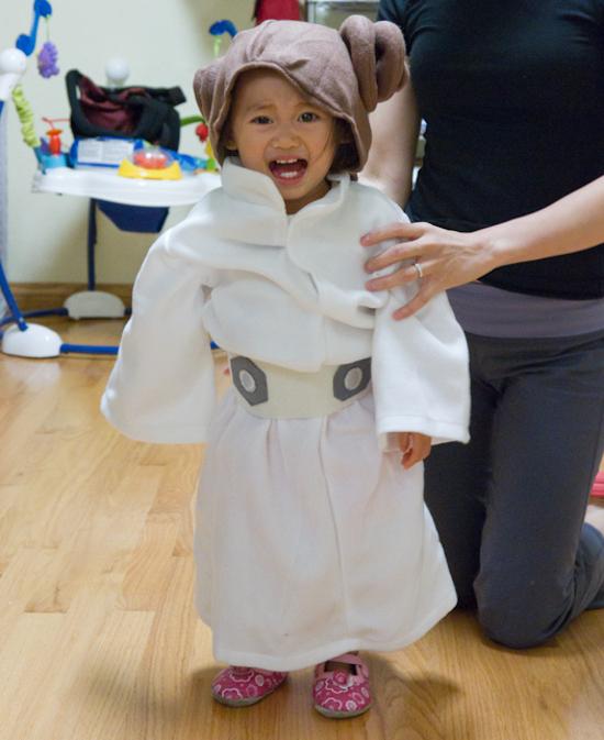 princess leia star wars bath robe child girl