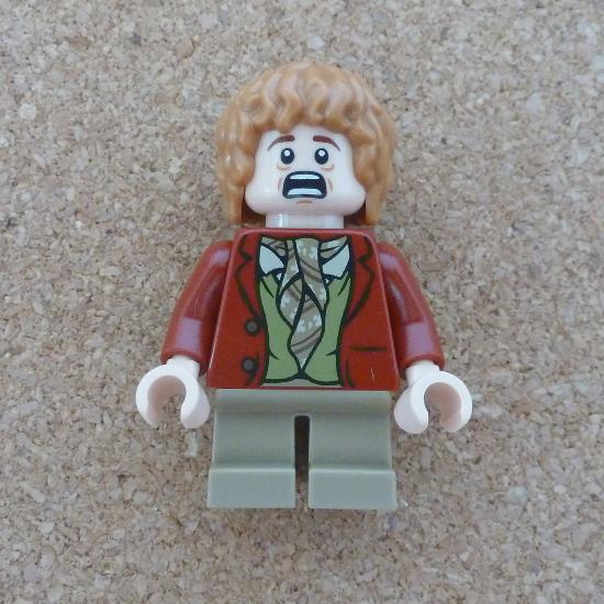Bilbo Baggins Lego minifigure Hobbit character photo
