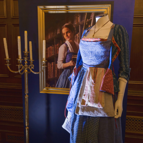 The provincial life blue costume dress that Emma Watson wears in the Beauty and a Beast movie