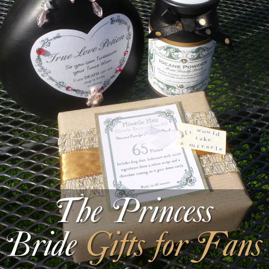 The Princess Bride Gifts Wrapped Items