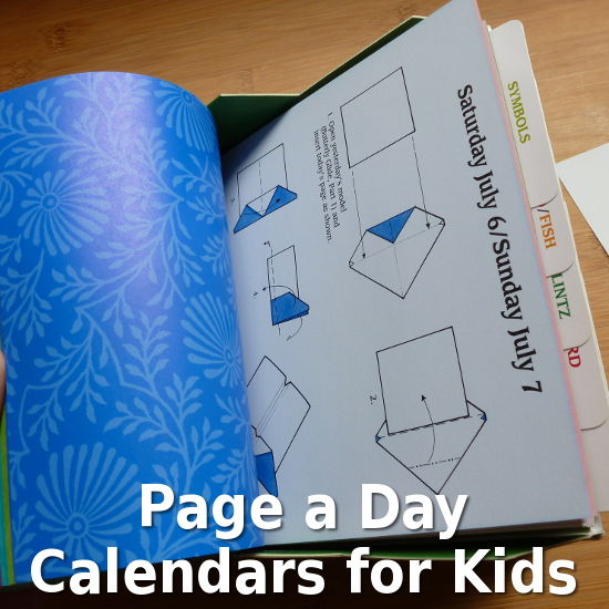 Page a Day Calendar Gifts for Kids to Enjoy
