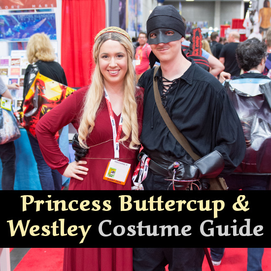 Princess Buttercup Westley Dread Pirate Roberts Couple Cosplay