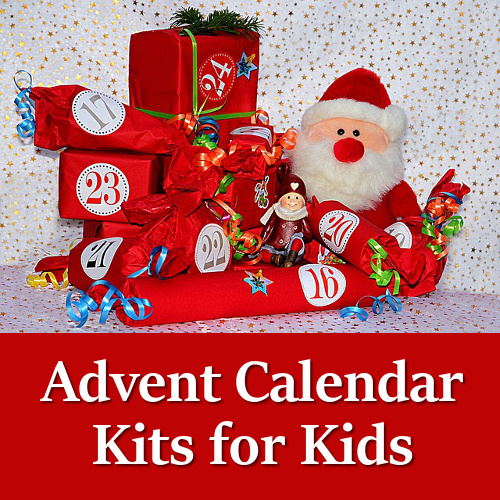 Advent Calendar Kits kids family families activity kit set