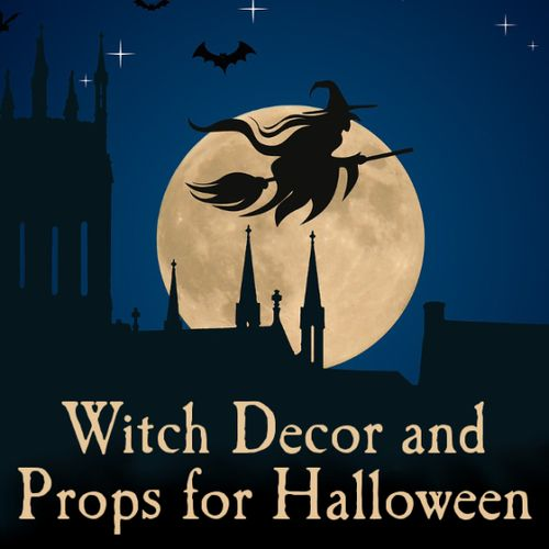 witch decor accessories items supplies halloween
