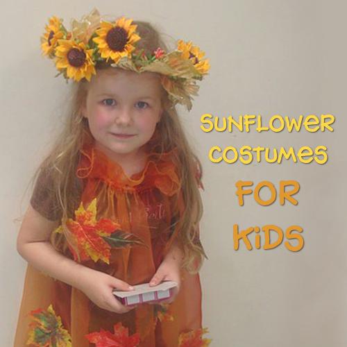 Sunflower costumes for children kids girls  sc 1 st  Sunflower Joy & Sunflower Halloween Costumes for Kids