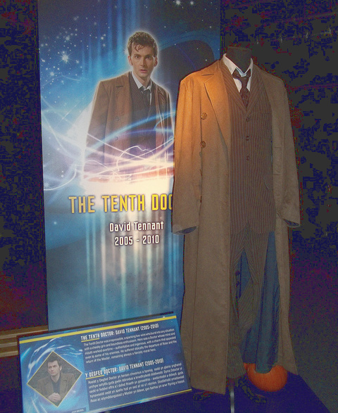 tenth dr who long brown coat for a 10th doctor halloween costume