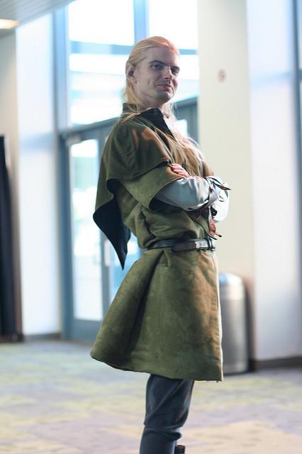 Tolkien fan legolas cosplay outfit dress