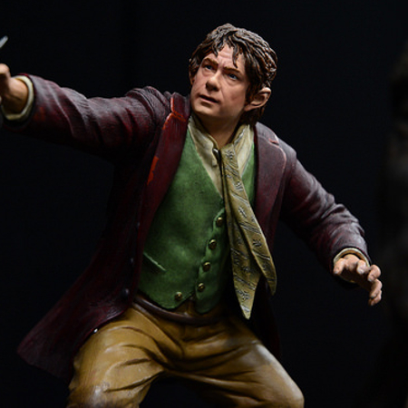 Bilbo Baggins Martin Freeman Unexpected Journey Hobbit Figure