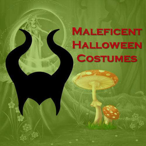 Disney maleficent halloween dress costume outfit