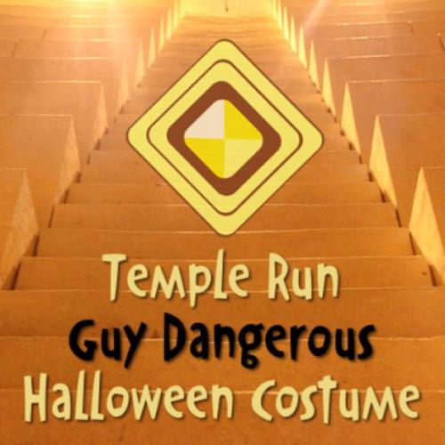Guy dangerous temple run halloween costume
