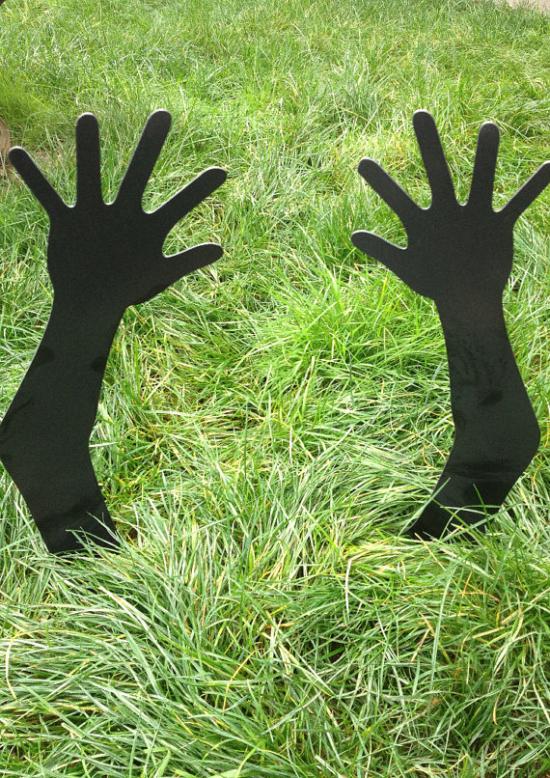 Metal Zombie Hands