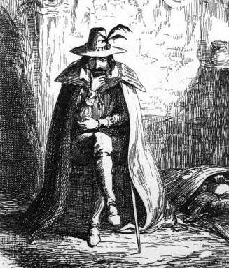 Guy Fawkes Picture by George Cruikshank