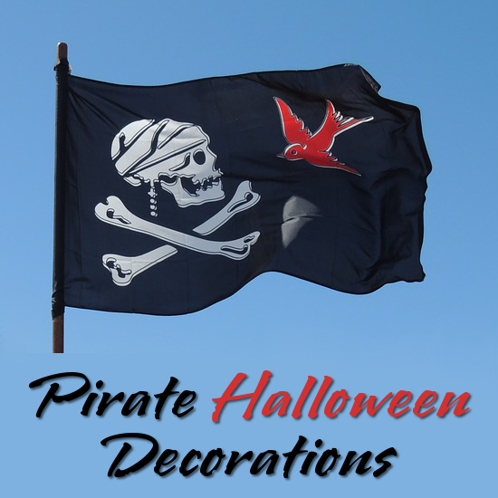 pirate halloween decorations props themed accents and accessories for landlubbers - Pirate Decorations