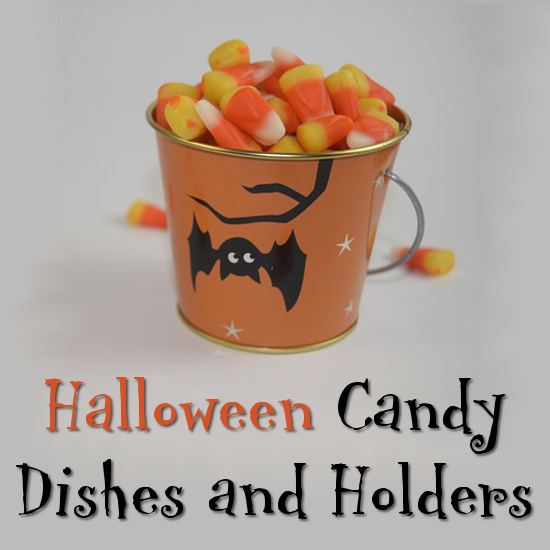 candy corn treats filler for bowl holder dish bucket