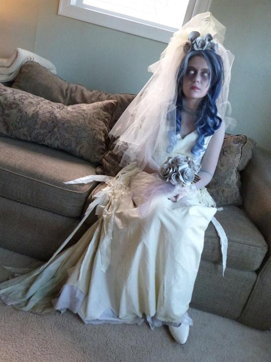 Corpse bride Halloween Ghost Bride Costume