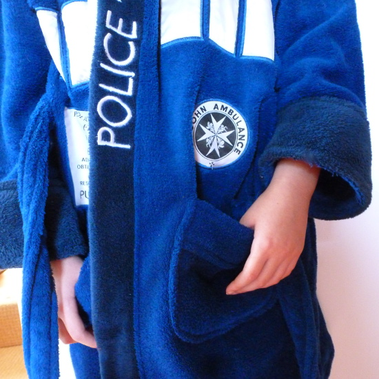 buy Dr Who bathrobe