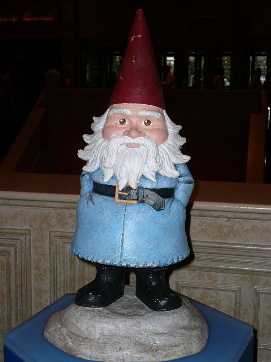 Travelocity Gnome Venetian Hotel Las Vegas July 2009