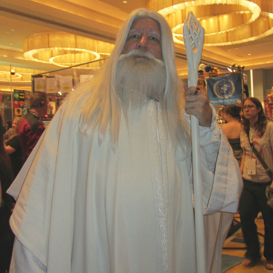 Gandalf the white cosplay Halloween help guide