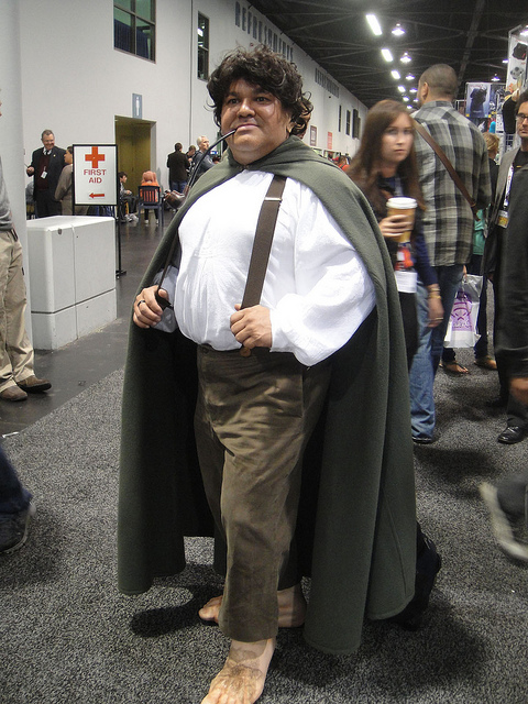 WonderCon cosplay Frodo from Lord of the Rings