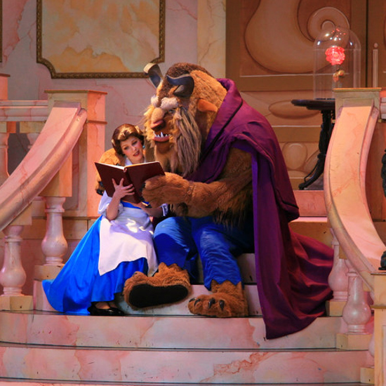 Disney Hollywood Studios Beauty and the Beast Belle and Her Prince Adam