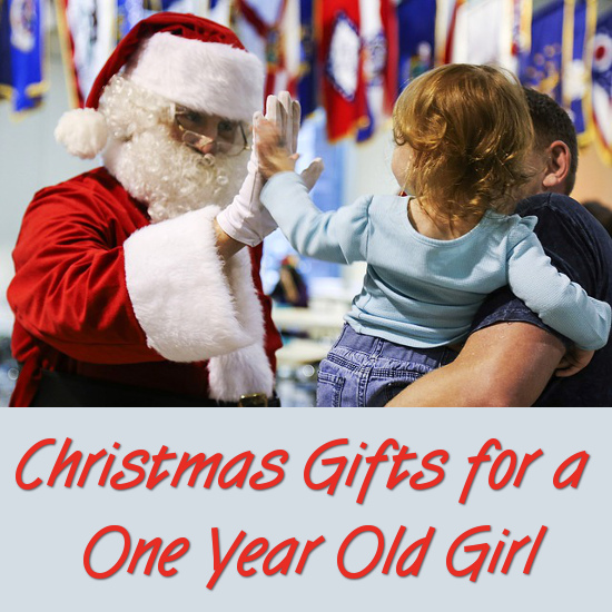 Santa Claus and Little Girl Gift Ideas Suggestions