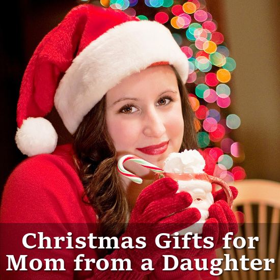 Woman dressed as Santa Christmas Gifts for Mom Page