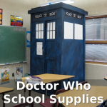 Doctor Who School Supplies for Whovians