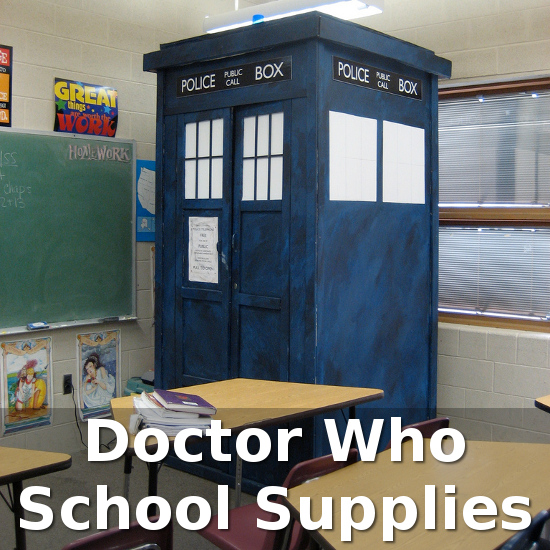 Doctor Who Dr School Classroom Tardis