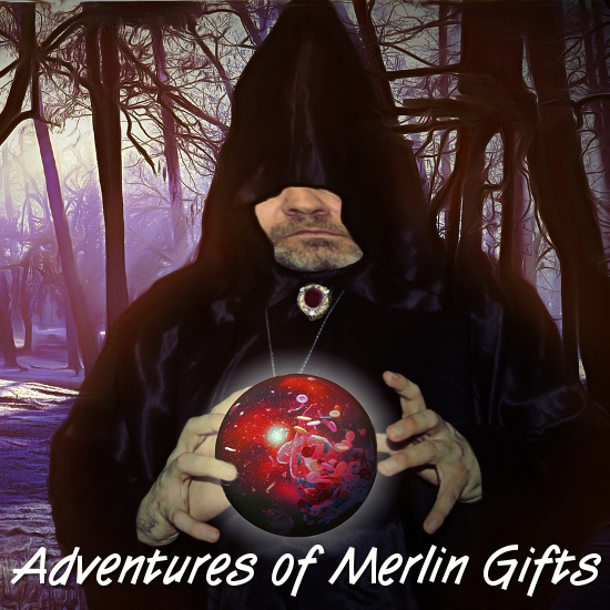 Magician Merlin Mage Magic Adventures of Gifts for Fans