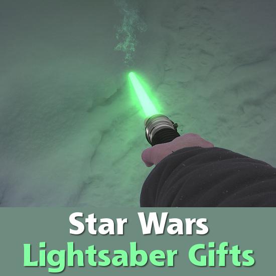 Lightsaber green light Star Wars gift items men women