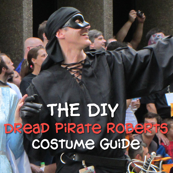 The DIY Princess Bride Westley costume from the movie learn how to dress and look like this character for cosplay and more