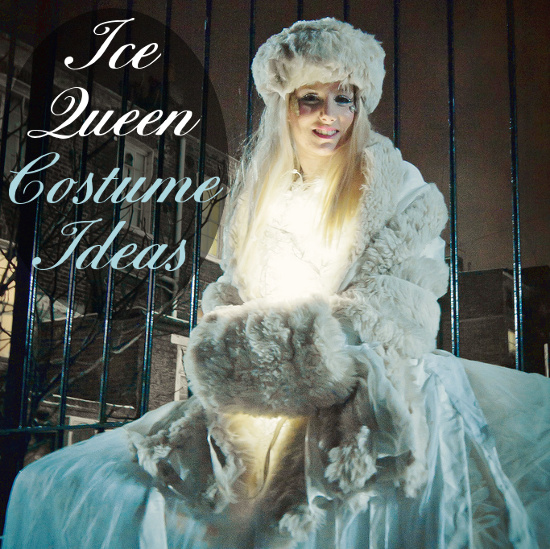 ideas for an ice or snow queen costume for women