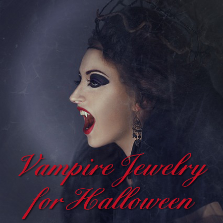 Vampire vamp jewelry halloween costume accessories
