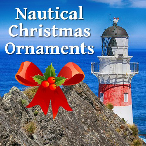 Nautical Themed Christmas Ornaments To Hang On Your Tree