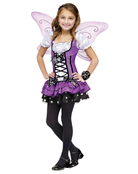 Purple Butterfly Costumes and Wings