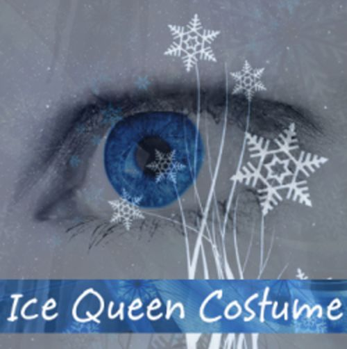 Ice queen costume for adults women