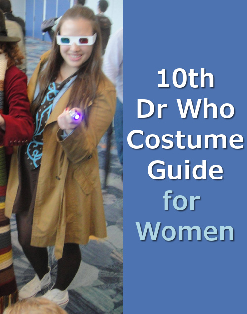 Dr Who 10th Doctor Costume for Women