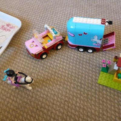 Emma's Horse Trailer Lego Friends Toy Set top gifts for 6 year old girls