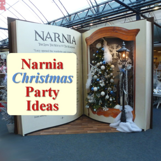 chronicles of narnia christmas party decorations add some winter magic for a wonderful event - Christmas Party Decorations